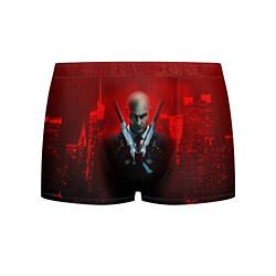 Трусы-боксеры мужские Hitman: Red Blood цвета 3D-принт — фото 1