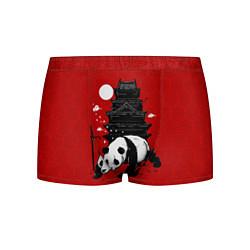 Трусы-боксеры мужские Panda Warrior цвета 3D — фото 1