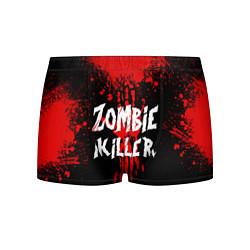 Трусы-боксеры мужские Zombie Killer цвета 3D — фото 1