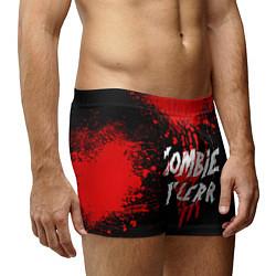 Трусы-боксеры мужские Zombie Killer цвета 3D-принт — фото 2