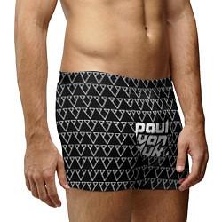 Трусы-боксеры мужские Paul Van Dyk цвета 3D-принт — фото 2