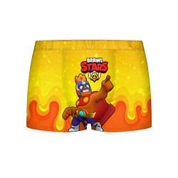 Мужские 3D-трусы боксеры с принтом Эль Примо brawl stars, цвет: 3D, артикул: 10209092703997 — фото 1