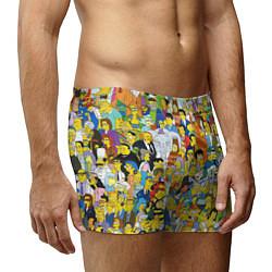 Трусы-боксеры мужские Simpsons Stories цвета 3D — фото 2