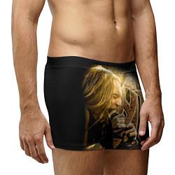Трусы-боксеры мужские Кипелов: Ария цвета 3D-принт — фото 2