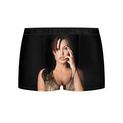 Трусы-боксеры мужские Angelina Jolie цвета 3D — фото 1
