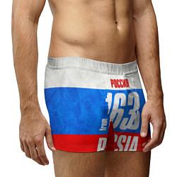 Трусы-боксеры мужские Russia: from 163 цвета 3D — фото 2