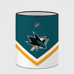 Кружка 3D NHL: San Jose Sharks цвета 3D-черный кант — фото 2