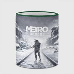 Кружка 3D Metro Exodus цвета 3D-зеленый кант — фото 2