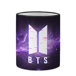 Кружка 3D BTS: Violet Space цвета 3D-черный кант — фото 2