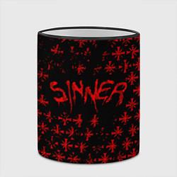 Кружка 3D Far Cry 5: Sinner цвета 3D-черный кант — фото 2