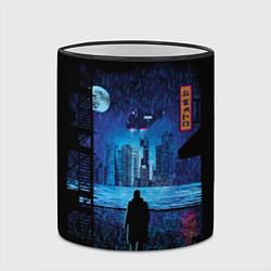 Кружка 3D Blade Runner: Dark Night цвета 3D-черный кант — фото 2