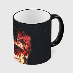Кружка 3D KIZARU - Karmageddon цвета 3D-черный кант — фото 1