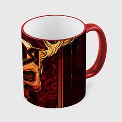 Кружка 3D Ария цвета 3D-красный кант — фото 1