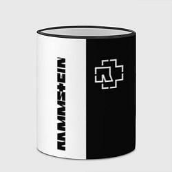 Кружка 3D RAMMSTEIN цвета 3D-черный кант — фото 2