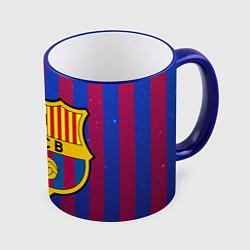 Кружка 3D Barcelona цвета 3D-синий кант — фото 1