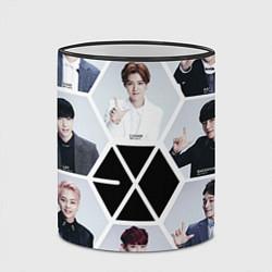 Кружка 3D EXO Boys цвета 3D-черный кант — фото 2