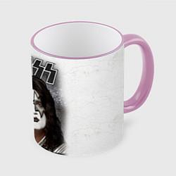 Кружка 3D KISS: Adult spaceman wig цвета 3D-розовый кант — фото 1