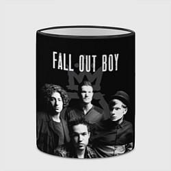 Кружка 3D Fall out boy band цвета 3D-черный кант — фото 2