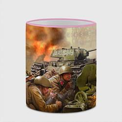 Кружка 3D День победы цвета 3D-розовый кант — фото 2