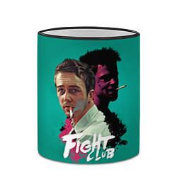 Кружка 3D Fight Club Stories цвета 3D-черный кант — фото 2