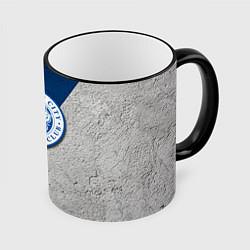 Кружка 3D Leicester City FC цвета 3D-черный кант — фото 1
