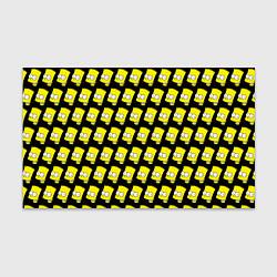 Бумага для упаковки Барт Симпсон: узор цвета 3D — фото 1
