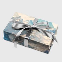Бумага для упаковки Горы цвета 3D — фото 2