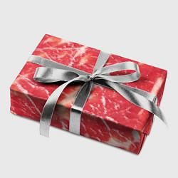 Бумага для упаковки Мясо цвета 3D-принт — фото 2