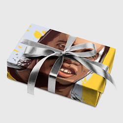 Бумага для упаковки Ronaldinho Art цвета 3D-принт — фото 2
