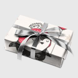 Бумага для упаковки Влюбленный пингвин цвета 3D — фото 2