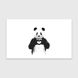 Бумага для упаковки Panda Love