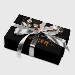 Бумага для упаковки Kiss Monster цвета 3D — фото 2