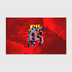 Бумага для упаковки KISS: Hot Blood цвета 3D — фото 1
