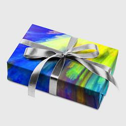 Бумага для упаковки Абстракция красок цвета 3D — фото 2