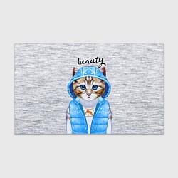 Бумага для упаковки Модная киска цвета 3D — фото 1