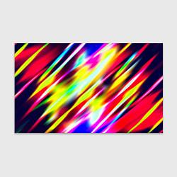 Бумага для упаковки Цветные блики цвета 3D — фото 1