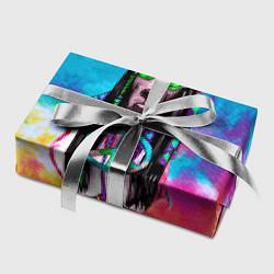 Бумага для упаковки Хиппи 9 цвета 3D — фото 2