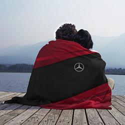Плед флисовый Mercedes Benz: Red Sport цвета 3D — фото 2