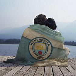 Плед флисовый FC Man City: Old Style цвета 3D — фото 2
