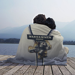 Плед флисовый Warhammer 40000: Tau Empire цвета 3D — фото 2