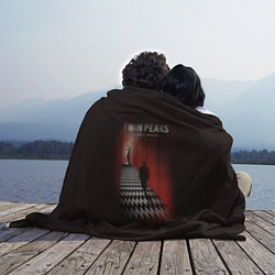 Плед флисовый Twin Peaks: Firewalk with me цвета 3D — фото 2