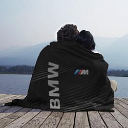 Плед флисовый BMW цвета 3D-принт — фото 2