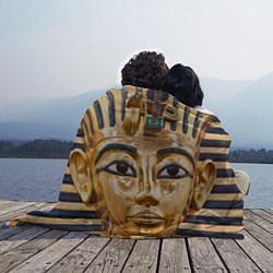 Плед флисовый Фараон цвета 3D-принт — фото 2