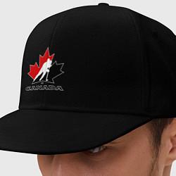 Кепка-снепбек Canada цвета черный — фото 1