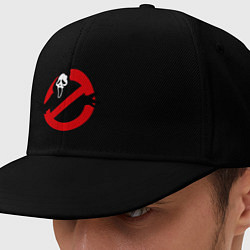 Кепка-снепбек Крик: запрещено цвета черный — фото 1