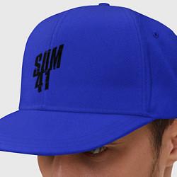 Кепка-снепбек Sum Forty One цвета синий — фото 1
