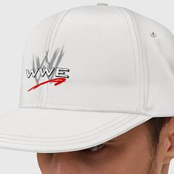 Кепка-снепбек WWE Fight цвета белый — фото 1