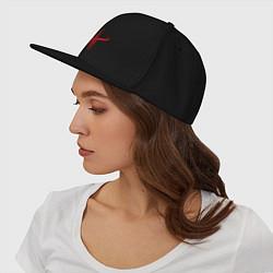 Кепка-снепбек Quake logo цвета черный — фото 2