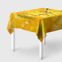 Скатерть для стола Pikachu цвета 3D — фото 2
