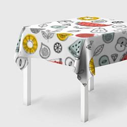 Скатерть для стола Летний микс цвета 3D — фото 2